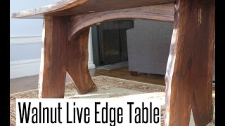 Download Walnut Live Edge Table Video