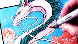 Download Let's Draw HAKU - SPIRITED AWAY - FAN ART FRIDAY Video