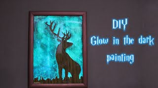Download How to Make Glow in the Dark Painting Video