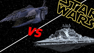 Download Bellator Super Star Destroyer vs Subjugator Heavy Cruiser | Star Wars: Who Would Win Video
