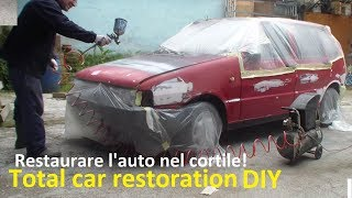 Download Restaurare un'auto da soli(2° Parte-LA VERNICIATURA)- DIY,Classic car restoration(Part 2°-PAINTING) Video