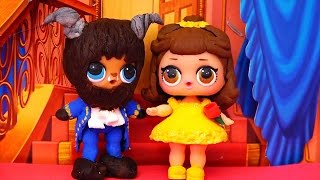 Download LOL Surprise Dolls Turn Into Beauty & the Beast ! Toys and Dolls Fun Customizing LOL Surprise Babies Video
