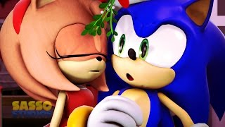 Download Sonic Animation -SONIC'S CHRISTMAS MISTLETOE MISHAP- SFM Animation Video