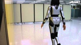 Download HRP-4C Miim's Human-like Walking Video