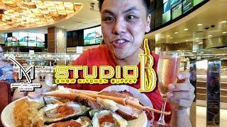 Download Best Hidden Buffet in Vegas - Studio B Buffet @ M Resort Video