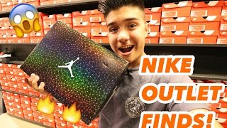 Download I CAN'T BELIEVE THEY HAD THEM, I BOUGHT 4 PAIRS!! Trip To The Nike Outlet!! Video