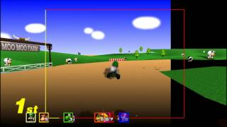 Download Mario Kart 64 - 1000cc (Part 1/4: Literally Flying!) Video
