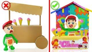 Download SUPERHERO BABY BUILD ABC ICE CREAM PARLOR 💖 Animation Cartoons Play Doh Video