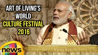 Download PM Modi Full Speech at Art of Living's World Culture Festival 2016 | Mango News Video