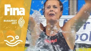 Download Pellegrini beats Ledecky in 200m free | Samsung Play of the Day | #FINABudapest2017 Video