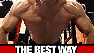 Download Best Way to do Pushups (FOR A BIGGER CHEST!) Video
