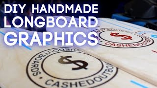 Download How To Stencil Designs on Handmade Longboards Video