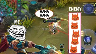 Download ML PRANK | ENEMY IS SO ANGRY THEY GO AFK | AUTO SAVAGE | MOBILE LEGENDS Video