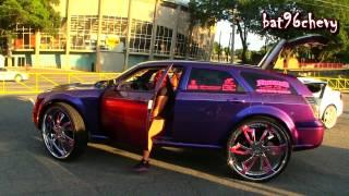 Download FEMALE'S Chameleon Dodge Magnum on 32″ Amani Forged Wheels, COMPLETE CUSTOM - HD Video