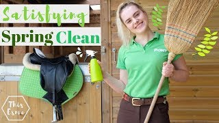 Download SATISFYING SPRING CLEAN of the Whole Stables! Video