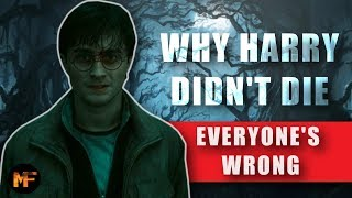 Download Why Harry Didn't Die in the Forbidden Forest Explained (Canon) Video