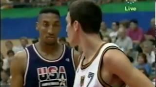Download 1992 Dream Team vs Germany - Barcelona Olympics Game 3 Video