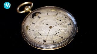 Download A very rare 1831 Breguet pocket watch at Sotheby's Important Watches auction held in Geneva Video