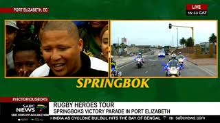Download RWC Trophy tour   Boks head to Green Acres mall, Port Elizabeth Video