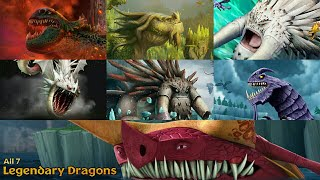 Download All 7 Legendary Dragons (With Cinematics, Resource Boosts, and Search Items) | Dragons: Rise of Berk Video