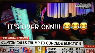 Download The moment CNN realizes the election is OFFICIALLY over. Trump wins!!!! Video