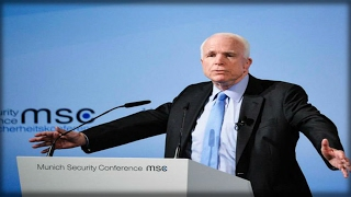 Download JOHN MCCAIN JUST STOOD ON STAGE IN EUROPE AND TRASHED OUR PRESIDENT AND AMERICA!! WATCH THIS! Video