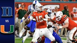 Download Duke vs. Miami Football Highlights (2016) Video