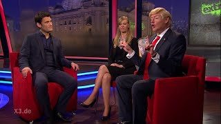 Download Christian Ehring im Gespräch mit Donald Trump | extra 3 | NDR Video
