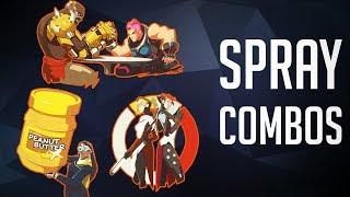 Download The Best Spray Combos [Overwatch] Video