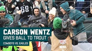 Download Carson Wentz Hits Ertz for a Diving TD & Wentz Gives Ball to Mike Trout! | NFL Week 17 Highlights Video