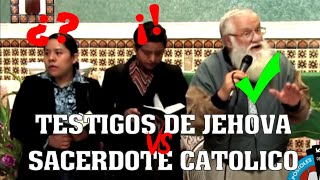 Download ¿Cuál es la Iglesia que Cristo Fundó? - Sacerdote vs Testigos de Jehová Video