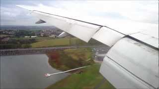 Download Air France Boeing 777-200ER approach in severe turbulence + landing at Paris CDG Video