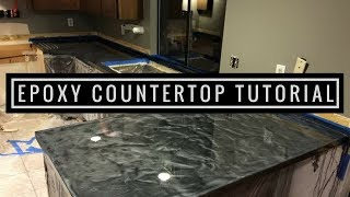 Download Countertop Resurfacing with Metallic Epoxy | Silver and Charcoal Video