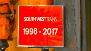Download Farewell SWT , Last Day Of SWT 1996 - 2017 , Class 455 Departs London Waterloo 19/8/17 Video