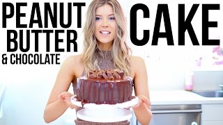 Download BAKING WITH MEGHAN: PEANUT BUTTER CUP CAKE Video