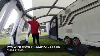 Download Kampa Frontier AIR Pro Caravan Awning 2017 Video