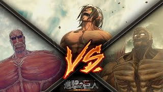 Download Attack on Titan / Eren Vs Armored Titan & Colossal Titan Gameplay - Final Mission Video