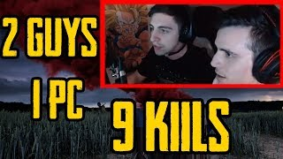 Download Shroud And Just9n Splitting Mouse And Keyboard - Playerunknown's Battlegrounds Video