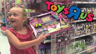 Download Giant Surprise Egg 1 - Barbie, Monster High, Peppa Pig, and Play Doh - Toys R Us Shopping Spree Video