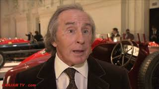 Download Sir Jackie Stewart Talks Ralph Lauren's Amazing Car Collection + Favorite Ferrari Cars Paris 2011 Video