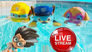Download Ellie Sparkles TV ⭐ Summer Pool Challenge Fun with Paw Patrol - Jail Rescue, Slime Challenges Video