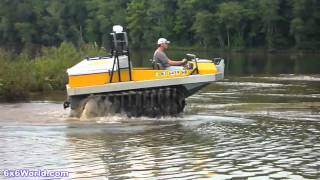 Download Hydratrek 6x6 Amphibious Vehicle Video