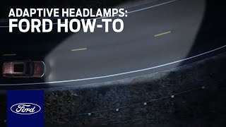 Download Adaptive Headlamps | Ford How-To | Ford Video