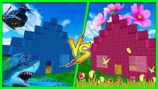 Download Minecraft - BOY HOUSE VS GIRL HOUSE! (Boys Vs Girls) Video