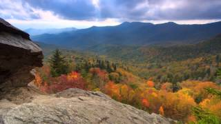 Download Scenic Time Lapse: Fall Foliage & Incredible Mountain Views - Asheville, North Carolina Video
