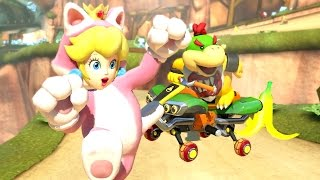Download Mario Kart 8 Deluxe - 200cc Flower Cup (3 Star Rank) - Bowser Jr. Gameplay Video