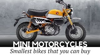 Download 10 Smallest Motorcycles and Mini Bikes with Engines that You Can Actually Buy Video