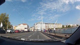 Download Geneva (Genève, Genf, Ginevra) Downtown, Canton of Geneva, Switzerland – onboard camera Video