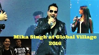 Download Mika Singh performing at Global Village | 2016 Video