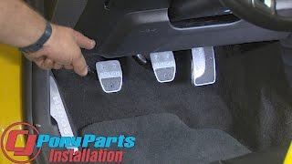 Download 2015-2017 Mustang Roush Pedal Kit Manual Transmission Installation Video